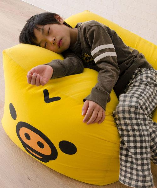 【リラックマ】ビーズクッション/キューブ Mサイズ