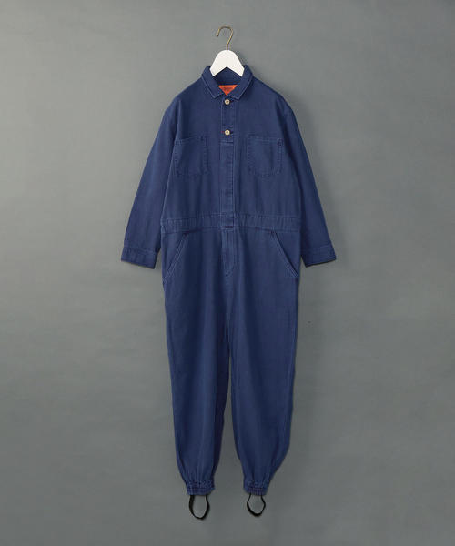 商品詳細 universal overall 6 roku herringbone jumpsuits