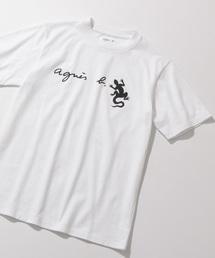 agnes b.(アニエスベー)の【agnes b. pour ADAM ET ROPE'】T-SHIRTS  LEZARD(Tシャツ/カットソー)