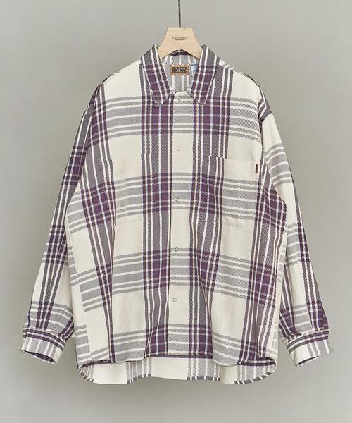 【別注】 <BIG MAC> CHECK WIDE SHIRT/シャツ