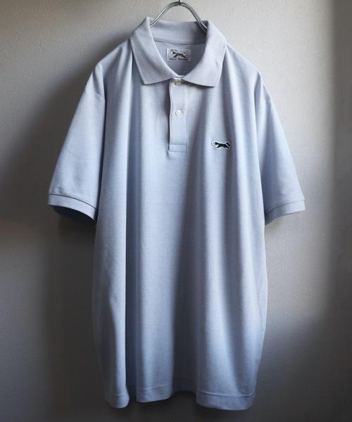【PENNEYS】THE FOX POLO SHIRTS / ドライカノコフォックスワッペン刺繍ベーシックポロシャツ