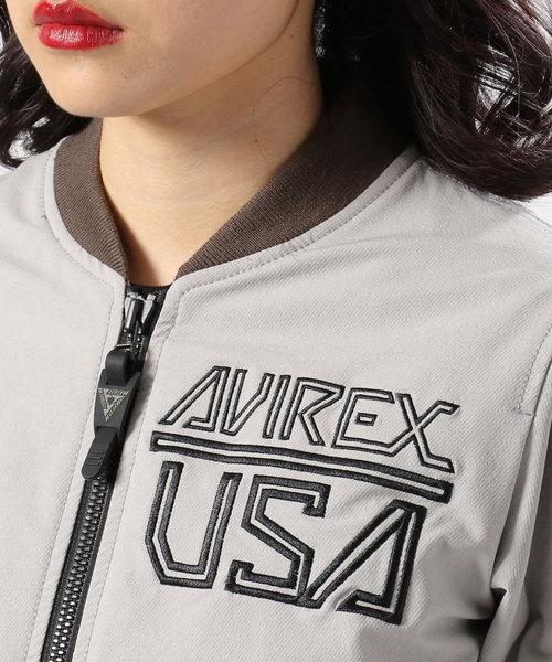 AVIREX/ アヴィレックス/ ストレッチ ソフトシェル MA-1/ L-STRETCH SOFT SHELL MA-1【AVIREX STREET GEAR/ ROAD】