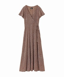 MAISON DE REEFUR(メゾンドリーファー)のフラワー プリント カシュクール ドレス(ドレス)