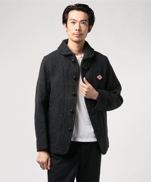 ダントン DANTON / ウールモッサショールカラージャケット Wool Mossar Shawl Collar Jacket