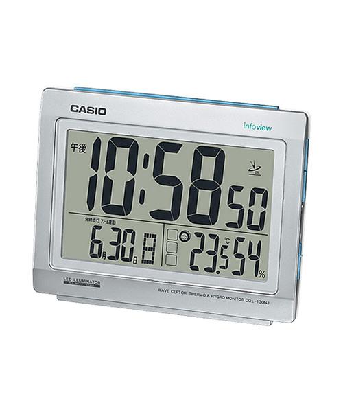 70eb03b2a4 電波時計 置時計 / DQL-130NJ-8JF(置時計)|CASIO(カシオ)の ...
