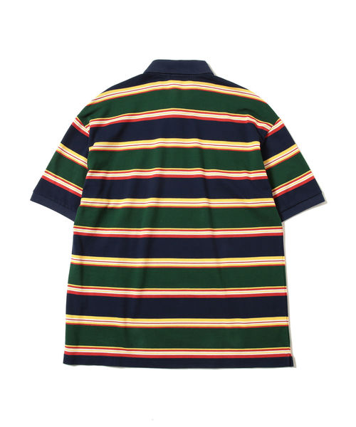 FRED PERRY × BEAMS / 別注 90's ボーダー ポロシャツ