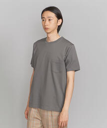 BY クリスピーコットン 1ポケット Tシャツ