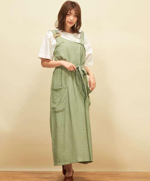 R/Nワンショルジャンパースカート