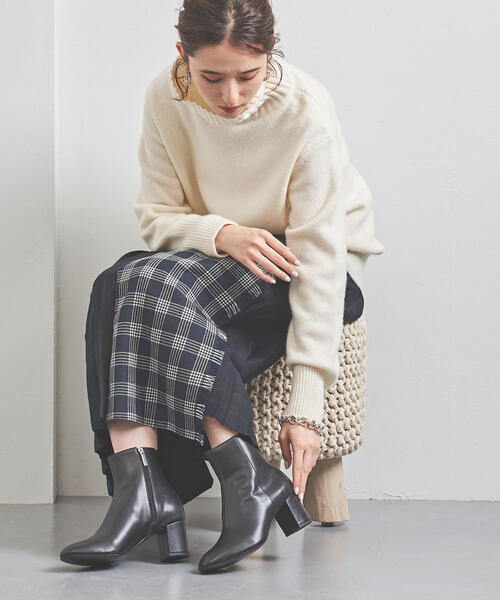 買い誠実 UWCB ショート ブーツ(ブーツ) UNITED ショート UNITED ARROWS(ユナイテッドアローズ)のファッション通販, まちのみしんやさん:1ed3b923 --- fahrservice-fischer.de