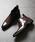 LASSU&FRISS(ラスアンドフリス)の「スクエアトゥ ロングノーズサイドゴアブーツ(ブーツ)」|ブラウン