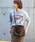 UR SELECT(ユーアールセレクト)の「ファー2wayショルダーBAG(ショルダーバッグ)」|ブラウン