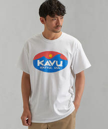 別注 [カブー]SC KAVU GLR サーフ ロゴ Tシャツ