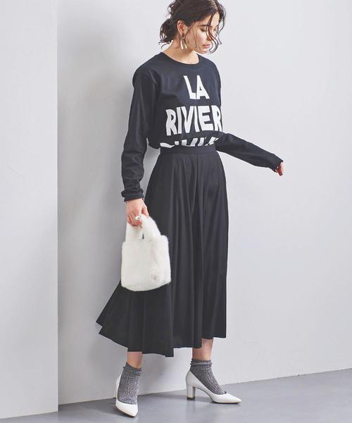 UWCS R/P フレアスカート◆