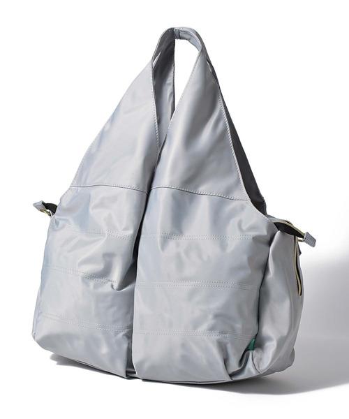 【monloulou/モンルル】2way 多機能 マザーズ トートバッグ レジカゴバッグ