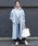 PICCIN(ピッチン)の「【日本製】ラグランスリーブオーバーサイズコート(ステンカラーコート)」|詳細画像