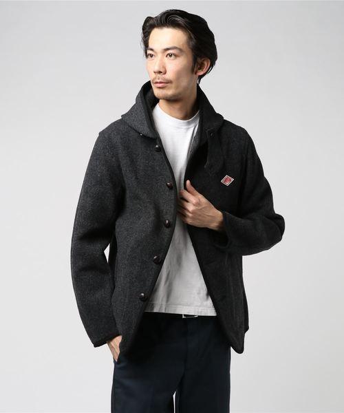 ダントン DANTON / ウールモッサフードジャケット Wool Mossar Hooded Jacket