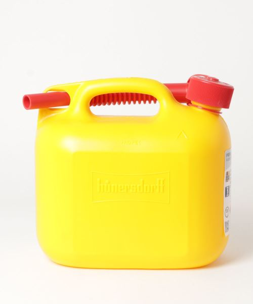【 hunersdorff / ヒューナースドルフ 】Fuel Can PREMIUM 5L CUR