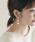 SMELLY(スメリー)の「ドロップメタルツナガリイヤリング(イヤリング(両耳用))」|詳細画像