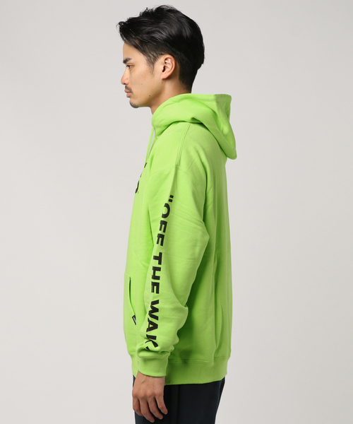VANS ヴァンズ Flying-V Pull Over Hoodie VA18FW-MC07 LIME