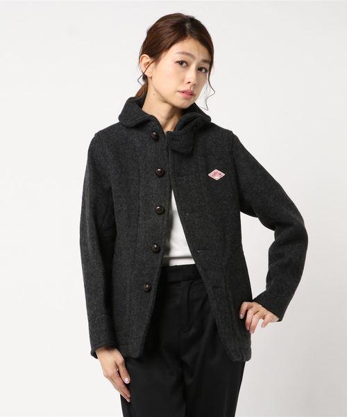 ダントン DANTON / ウールモッサショールカラージャケット Wool Mossar Shawl Collar Jacket JD-8243