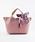 styiro(スタイロ)の「スカーフ・ポーチ付き2WAYトートバッグ/Sサイズ(トートバッグ)」|ピンク系その他