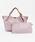 styiro(スタイロ)の「スカーフ・ポーチ付き2WAYトートバッグ/Sサイズ(トートバッグ)」|ピンク