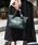 styiro(スタイロ)の「スカーフ・ポーチ付き2WAYトートバッグ/Sサイズ(トートバッグ)」|グリーン