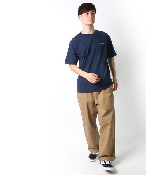 CONVERSE/コンバース ワンポイント刺繍Tシャツ
