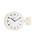 DULTON(ダルトン)の「DOUBLE FACE CLOCK 170D(掛け時計)」|アイボリー