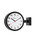 DULTON(ダルトン)の「DOUBLE FACE CLOCK 170D(掛け時計)」|ブラック