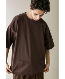 <monkey time> C/N PLTG/TJK PC TEE/Tシャツ
