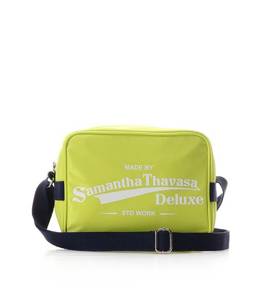 品質一番の スポーティー ロゴショルダーバッグ(ショルダーバッグ)|Samantha Thavasa Deluxe(サマンサタバサ Thavasa デラックス)のファッション通販, 厨房1番:9db86796 --- skoda-tmn.ru