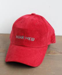 nina mew(ニーナミュウ)のロゴ入りキャップ(キャップ)