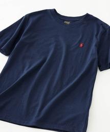 POLO RALPH LAUREN(ポロラルフローレン)のRALPH LAUREN/ポロ ラルフローレン ロゴ クラシックコットン 半袖Tシャツ/ ボーイズライン VNECK T-SHIRTS(Tシャツ/カットソー)