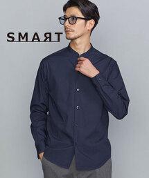 【WEB限定 WARDROBE SMART】by コットンポプリン スキッパー シャツ