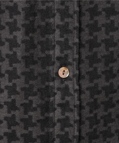 HOUND'S-TOOTH FLANNEL SHIRT / ハウンドトゥースネルシャツ