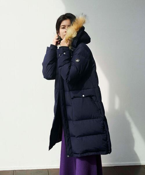 【EMMEL REFINES】yeti(イエティ)yeti NORDIC DOWN COAT【別注色ネイビー】 / ダウン