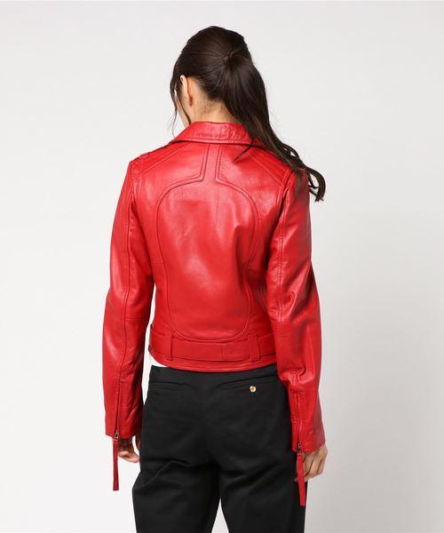 【AULA】ライダースジャケット