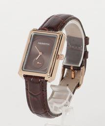 おしゃれスタ SELECT   WOMEN'S(オシャレスタ セレクト ウィメンズ)の「【OSHARESTA★TOKYO】ウォッチコレクション スクエア エレガント ウォッチ(腕時計)」