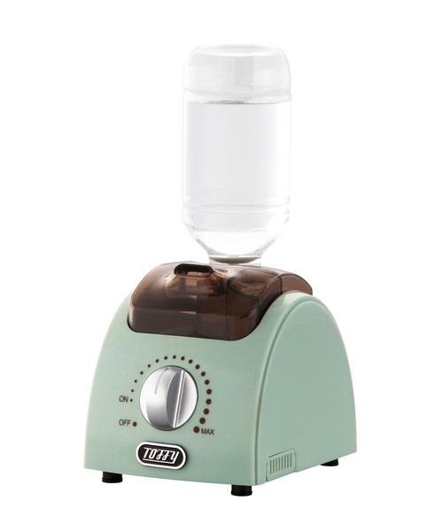 Toffy(トフィー)の「【Toffy/トフィー】 ペットボトルアロマ加湿器(生活家電)」|アクア