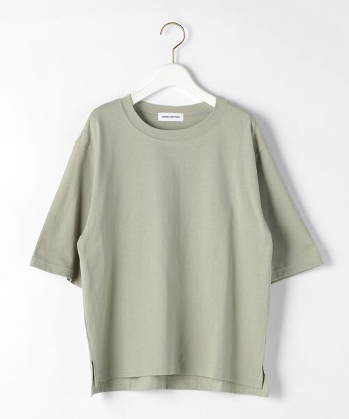 SMF 裾スリット クルーネック Tシャツ 2