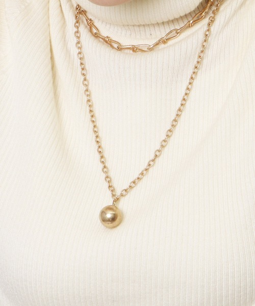Ball necklace・・