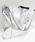 PATRICK STEPHAN(パトリックステファン)の「Leather shoulder bag 'simple' metallique ショルダーバッグ(ショルダーバッグ)」 詳細画像