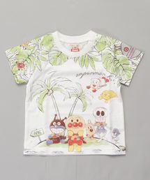 ANPANMAN KIDS COLLECTION(アンパンマンキッズコレクション)の【アンパンマン】パネルボタニカルTシャツ(Tシャツ/カットソー)