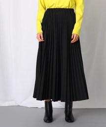 JET(ジェット)の【WEB限定カラーあり】【洗える】ウエストゴム クロップドプリーツスカート(スカート)