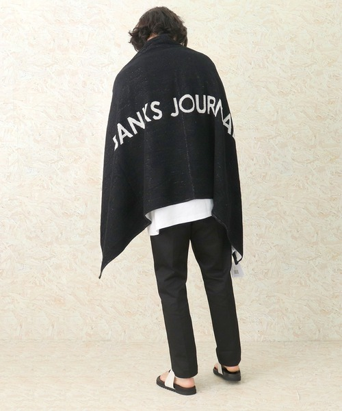 【 BANKS JOURNAL / バンクスジャーナル 】LABEL TOWEL AX0012