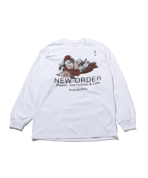 <PLEASURES × New Order> POWER LS/Tシャツ