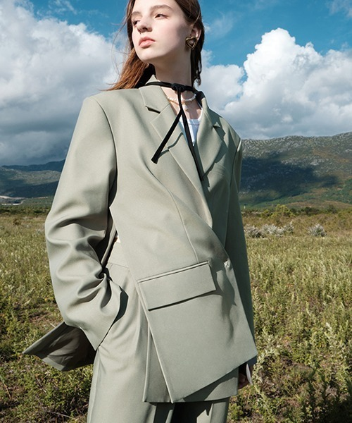 【Fano Studios】【2021AW】Side slit suit jacket FQ21W032