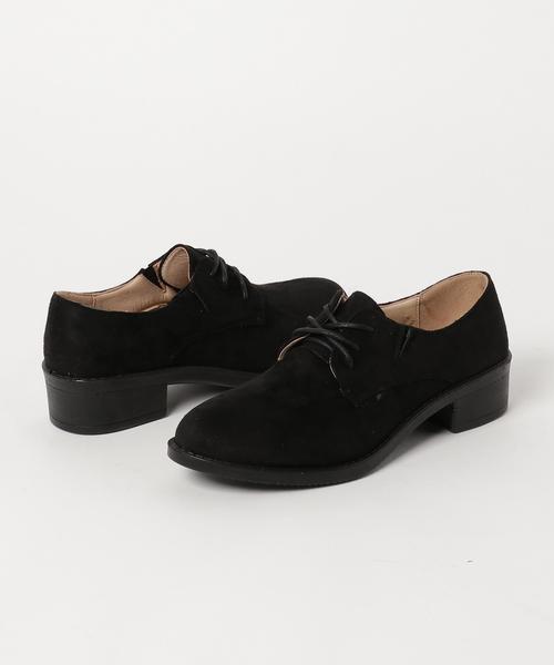 SFW(エスエフダブリュー)の「'おじ靴'マニッシュプレーントゥ美脚ドレスシューズ(ドレスシューズ)」 ブラック系その他2