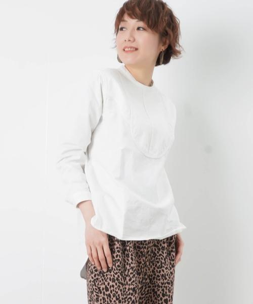 9cb0ef77749 セール】LC/LLL ネップ スタンドカラーシャツ(シャツ/ブラウス)|LUCA ...